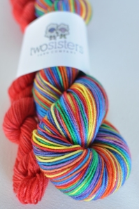 Somewhere Rainbow Skeins
