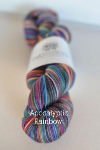 Apocalyptic Rainbow Skein Title