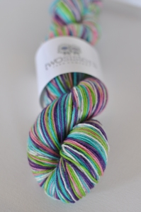 Funfetti Solid Wide Stripes Skein