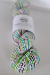 Funfetti Speckled Wide Stripes Skein