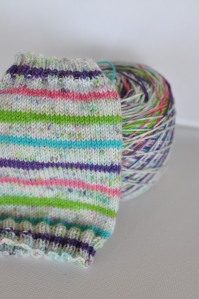 Funfetti Speckled Wide Stripes