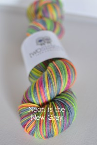 Neon is the New Grey Skein Title